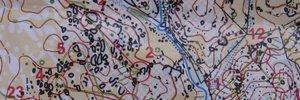 Treening, kompassita trenn 1:5000 kaardil (Crato, POR)