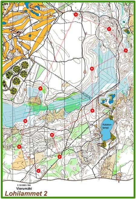 Ykuppi Vierumki Heinola September 21st 2016 Orienteering Map
