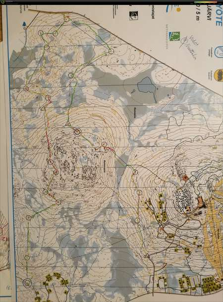 Syotteen Vedot June 28th 2017 Orienteering Map From Aleksi
