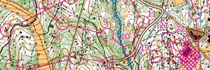 First orienteering session for 2021