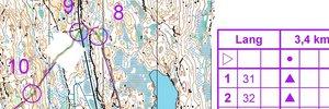 O-teknisk test Göteborg Første runde