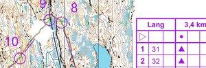 O-teknisk test Gøteborg Andre runde (altså samme løype)