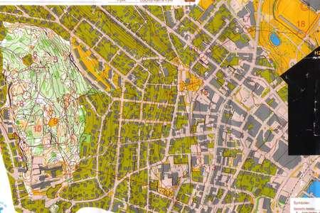 NM Sprint Qual Horten September 2nd 2006 Orienteering Map from