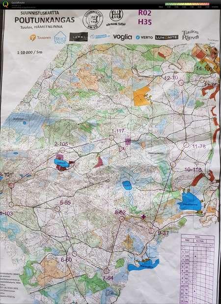 Sm Yo September 22nd 2018 Orienteering Map From Vesa Taanila