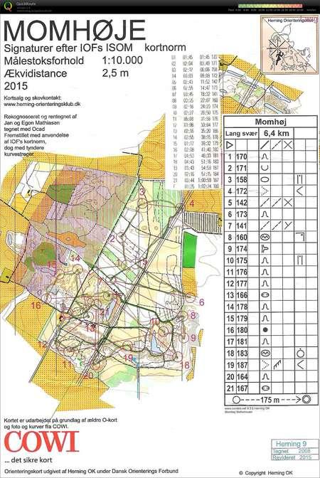 Momshoje Bane 1 June 21st 2016 Orienteering Map From Jess