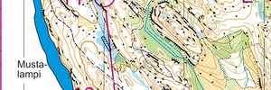 Finnish WOC selection race 2019 Middle M21