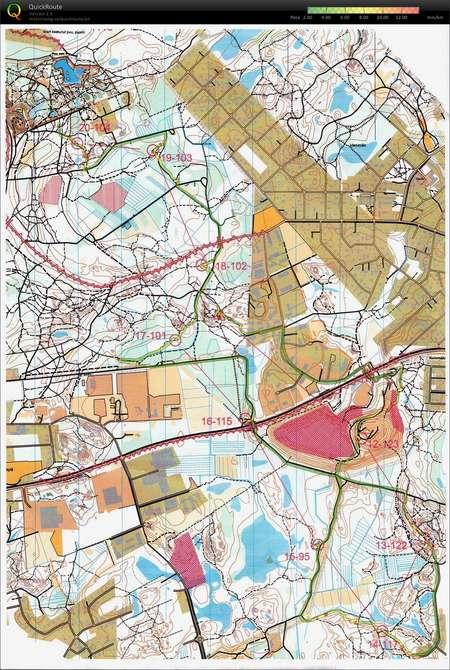 Sm Tuusula Kartta 2 3 September 26th 2010 Orienteering Map