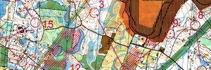 Map: 10Mila Vorbereitung, WOC Vorbereitung und Postas Cup
