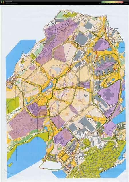 fornebulandet kart Rulleski o Fornebu   September 14th 2011   Orienteering Map from  fornebulandet kart
