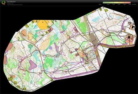 Jms Jukola 5 osuus June 16th 2013 Orienteering Map from Henri