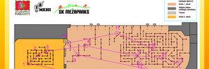 Map: Indoor Orienteering