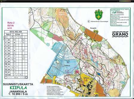 Am Yo September 19th 2018 Orienteering Map From Milla Lohikainen