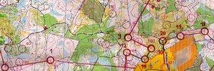 Map 3:      Ungarische WM-Luft ... und Tiomila!