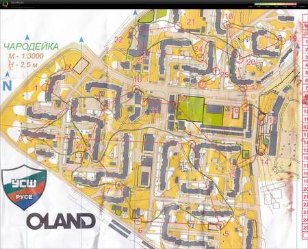 Istros Cup Sprint 2 May 20th 2017 Orienteering Map From Ivan