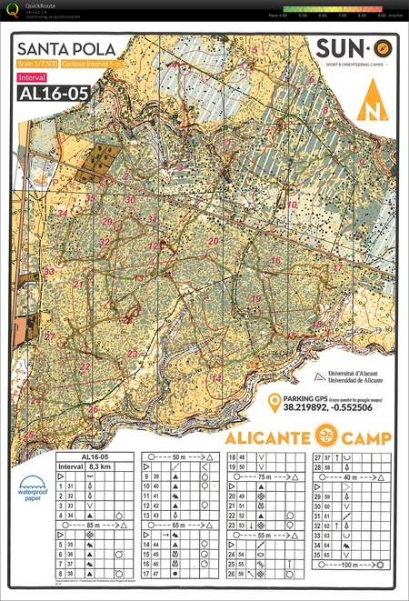 Suno Campus Map.Linedans February 16th 2016 Orienteering Map From Jonas Klausen