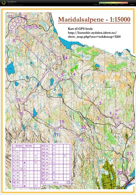 Camp Norway Oslo November Nd Orienteering Map From - Norway map 2014