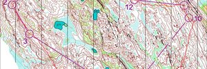 Map 12: Jukola & WOC Camps
