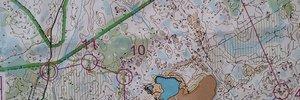 Map 2: Finnish sprint championship