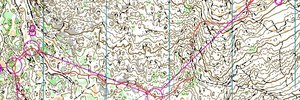 Map: Return to WOC 2011