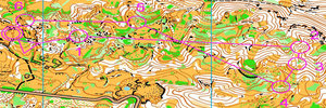 Map 25: Great trainings in GARGANO – excellent idea for WMOC 2012…