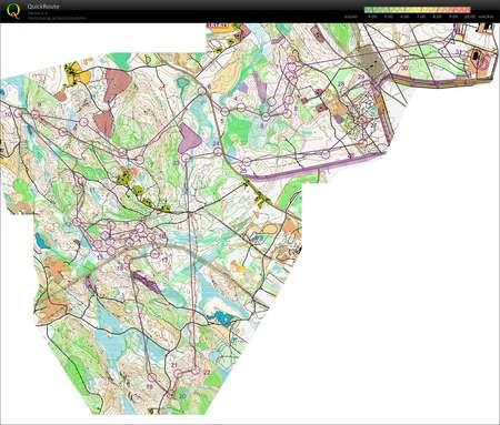 JmsJukola June 15th 2013 Orienteering Map from Jussi Borgenstrm