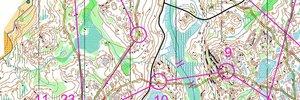 Map: �Nordische Meisterschaften und Weltcupauftakt