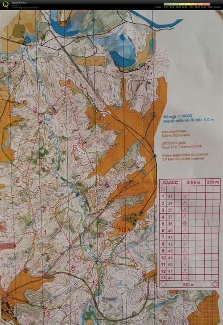 Hanksu Latvia 18 2 April 9th 2018 Orienteering Map From