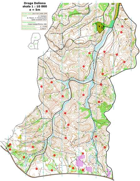 Bukowa Cup E October Th Orienteering Map From OL - Berlin map 2017